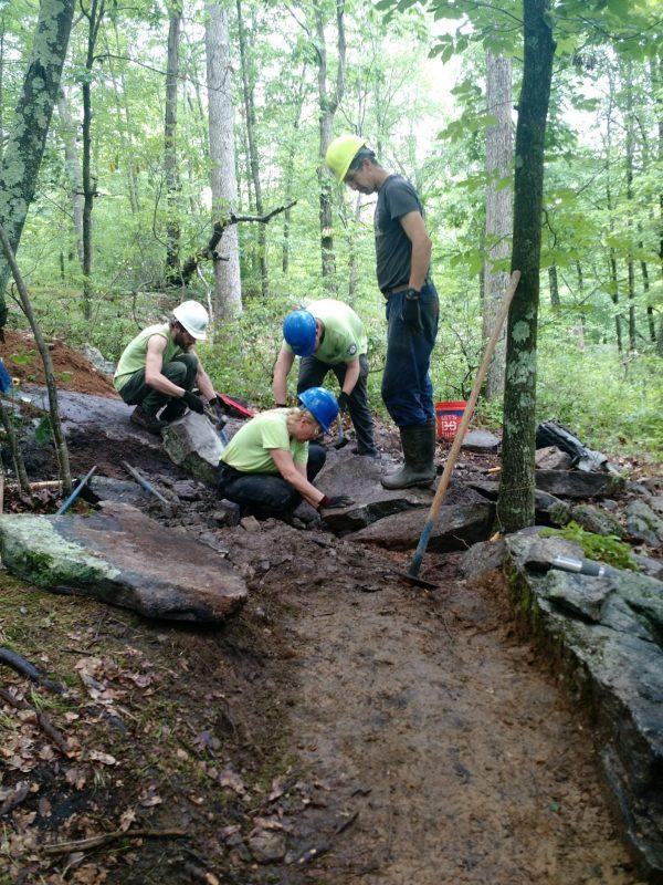 Trail maintenance session - nj